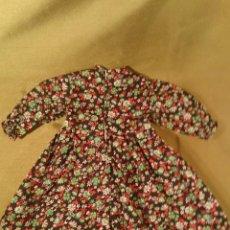 Vestidos Muñecas Españolas: VESTIDO DE FLORES DE MUÑECA JESMAR. ETIQUETA Nº 22.. Lote 39400662