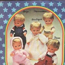 Vestidos Muñecas Españolas - Anuncio * BABY MOCOSETE * TOYSE - 40031832