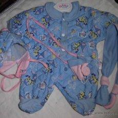 Vestidos Muñecas Españolas: TRAJECITO DEINVIERNO DEL BABY BORN . Lote 40862593