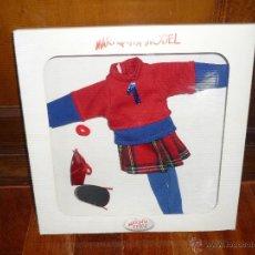 Vestidos Muñecas Españolas: MARIQUITA MODEL TRAJE MODELO COLEGIO BLISTER NUEVA CAJA DESCATALOGADA. Lote 44031789
