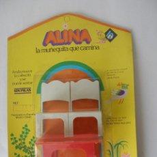 Vestidos Muñecas Españolas: MESA Y SILLAS DE ALINA DE BB AÑOS 70 - BLISTER CERRADO. Lote 39412768