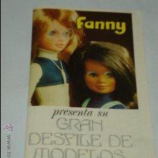Vestidos Muñecas Españolas: CATÁLOGO DE MUÑECAS FANNY PRESENTA GRAN DESFILE DE MODELOS, DE VICMAR, AÑO 1974. 32 PÁGINAS . Lote 32471583