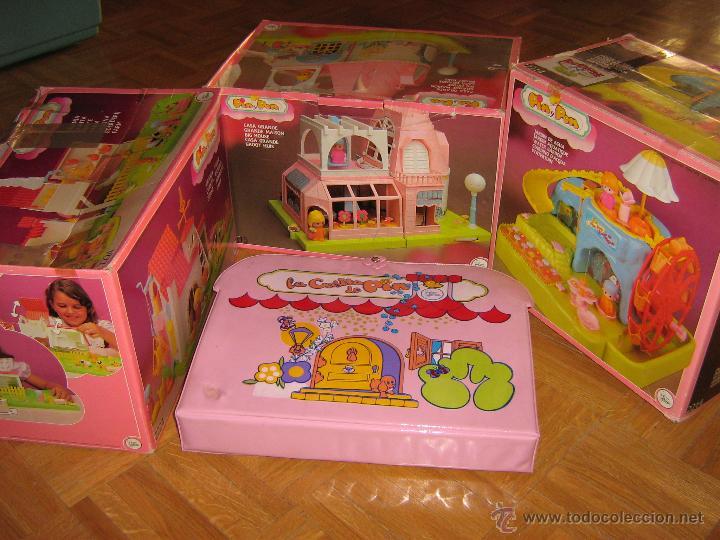 Gran lote pin y pon casa grande granja jar comprar for Casa de juguetes para jardin de segunda mano