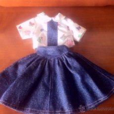 Vêtements Poupées Espagnoles: CONJUNTO DE MUÑECA FALDA Y BLUSA PARECE DE NANCY. Lote 47106612