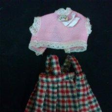 Vestidos Muñecas Españolas: ROPA MUÑECA BARRIGUITAS ORIGINAL FAMOSA 1650. Lote 47148735