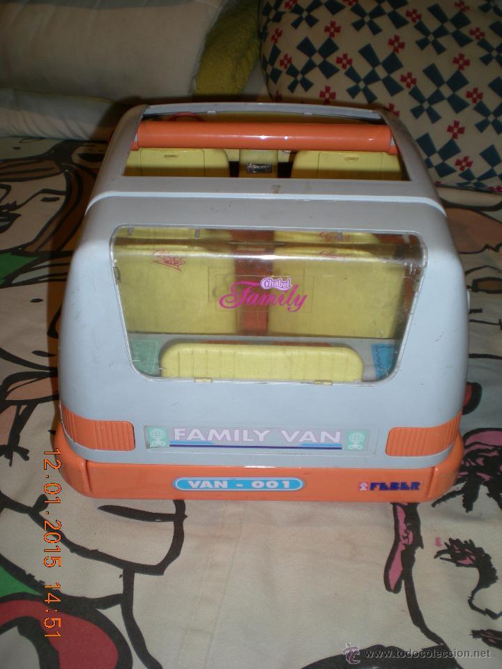 Vestidos Muñecas Españolas: coche original de chabel family van de feber - Foto 4 - 47289113