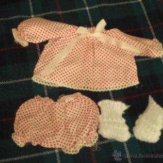 Vestidos Muñecas Españolas: BABY MOCOSETE - CONJUNTO JESUSITO - AÑOS 70. Lote 48312186