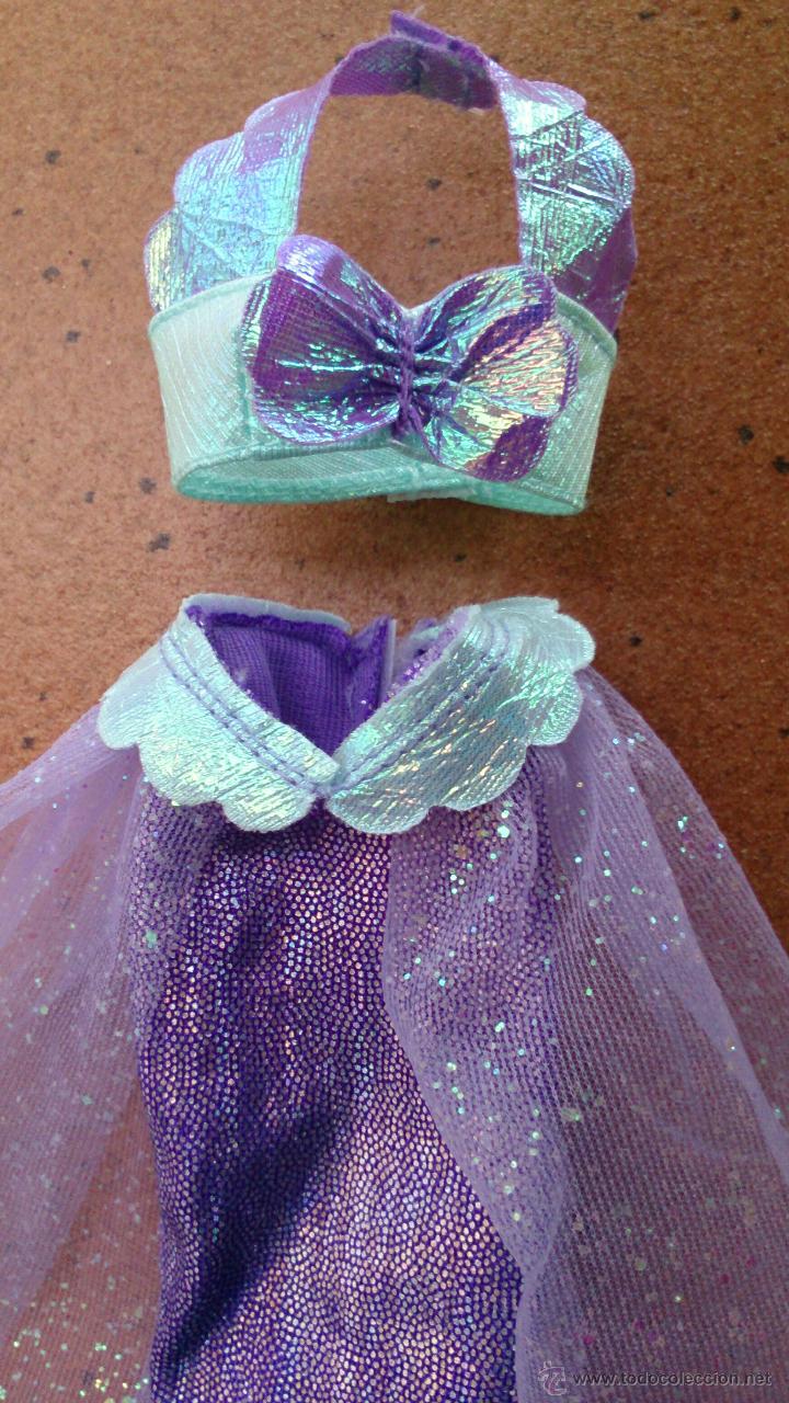 ArielLa Sirenita Vestido Sirena Mermaid Muñeca Conjunto N0PwkXnO8