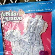 Vestidos Muñecas Españolas: CONJUNTO DE LA FAMILIA CORAZON NUEVO. Lote 50827864