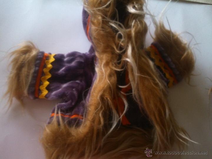 Vestidos Muñecas Españolas: *ANTIGUO CONJUNTO DE TERCIOPELO. MUÑECA AÑOS 50. (18/*) - Foto 3 - 52150438