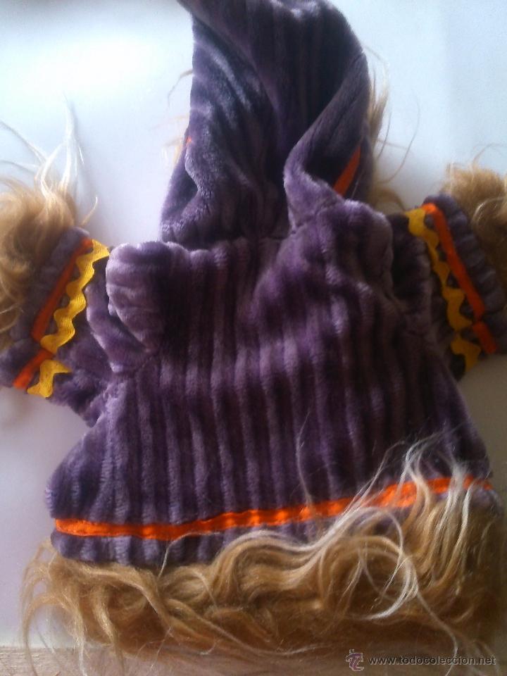 Vestidos Muñecas Españolas: *ANTIGUO CONJUNTO DE TERCIOPELO. MUÑECA AÑOS 50. (18/*) - Foto 4 - 52150438