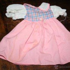 Vestidos Muñecas Españolas: VESTIDO ORIGINAL MUÑECA DE FAMOSA CON ETIQUETA . Lote 52700947