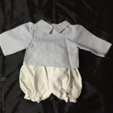 Vestidos Muñecas Españolas: CONJUNTO DE CAMISA Y POLOLO. Lote 53284301