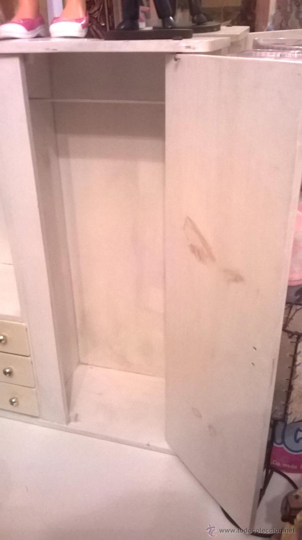 Armario ropero precioso de madera y pintad comprar - Armarios pintados a mano ...