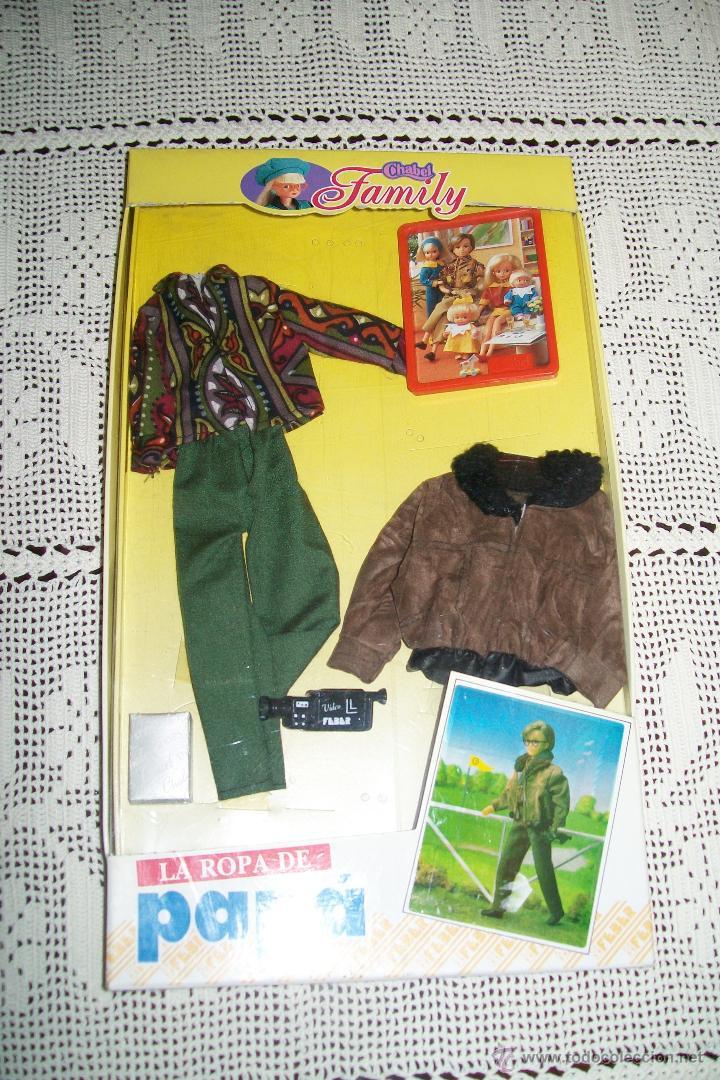 CHABEL FAMILY LA ROPA DE PAPÁ MODELO WEEK-END 1990 (Juguetes - Vestidos y Accesorios Muñeca Española Moderna)