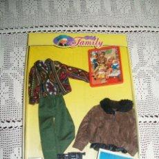 Vestidos Muñecas Españolas: CHABEL FAMILY LA ROPA DE PAPÁ MODELO WEEK-END 1990. Lote 211880025