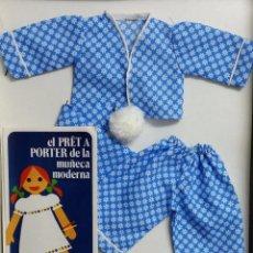 Vestidos Muñecas Españolas: CONJUNTO DE NINUA NUEVO EN CAJA CON CATALOGO. Lote 54598851