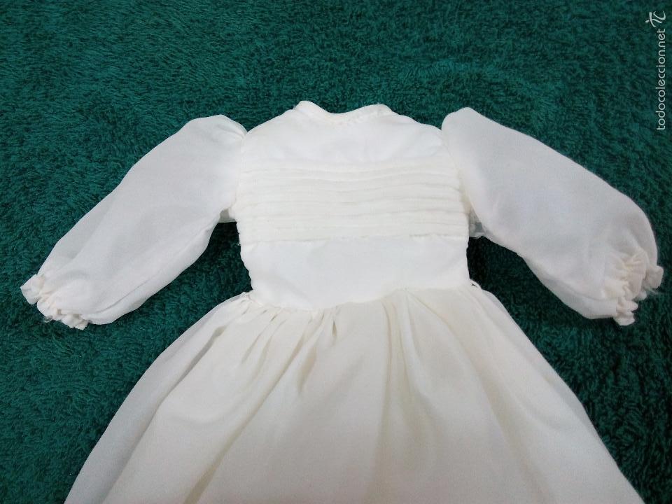 Vestidos Muñecas Españolas: VESTIDO DE COMUNIÓN ORIGINAL DE LA NANCY - Foto 3 - 55691974