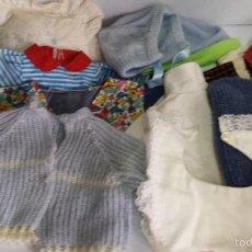 Vestidos Muñecas Españolas: LOTE 10 PIEZAS ROPA BABY BORN Y SIMILAR - ENVÍO GRATIS A ESPAÑA. Lote 55695343