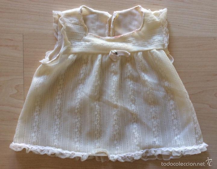 Vestidos Muñecas Españolas: Envío 6€. Salto de cama de muñeca PIERINA autentico. Se vende solo el vestido. - Foto 3 - 58118974