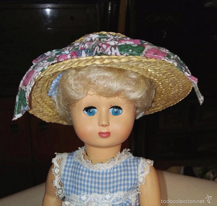 Vestidos Muñecas Españolas: Sombrero para muñeca antigua talla Leslie - Foto 2 - 59816076
