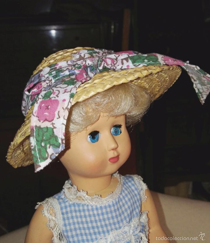 Vestidos Muñecas Españolas: Sombrero para muñeca antigua talla Leslie - Foto 4 - 59816076