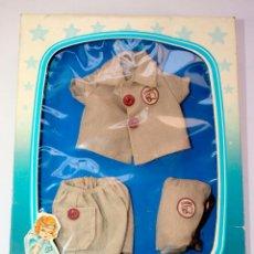 Vestidos Muñecas Españolas: CAJA VESTIDOS BABY MOCOSIN TOYSE DRESSES HABILLAGES VINTAGE 1970-80. Lote 63181212