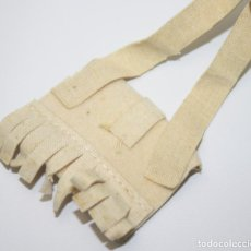 Vestidos Muñecas Españolas: NA037 NANCY - BOLSO HIPPY - FIELTRO BEIGE - EN PERFECTO ESTADO - AÑOS 70. Lote 44086353