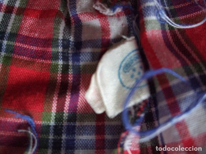 Vestidos Muñecas Españolas: ANTIGUAS CAMISA MUÑECO BABY MOCOSETE. SAFARI Y ESCOCESA.DOS. NENUCO - Foto 8 - 65472426