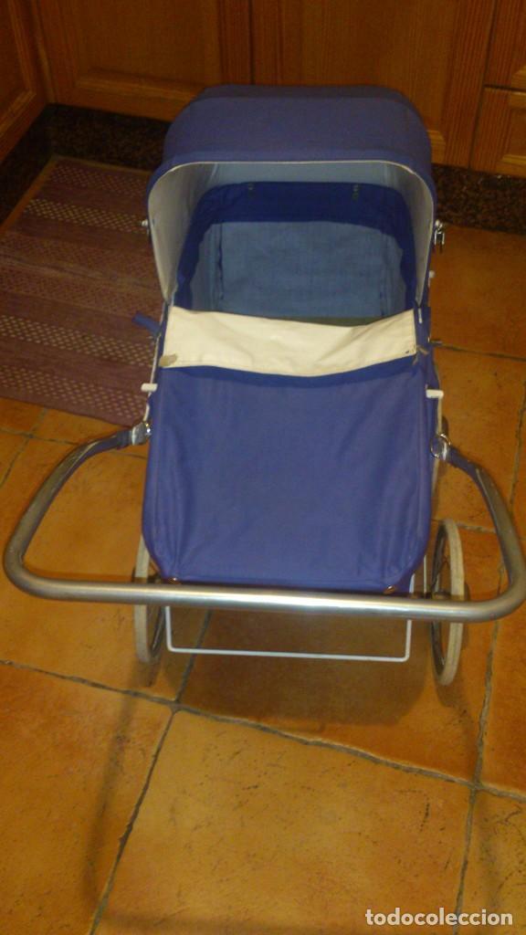 Vestidos Muñecas Españolas: Antiguo carrito de bebe para muñecas de 60/70 cm,o para niñas. - Foto 4 - 67477033
