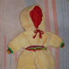 Vestidos Muñecas Españolas: BUZO MONO MUÑECO BABY MOCOSETE DE TOYSE - MODELO NIEVE. Lote 69648761