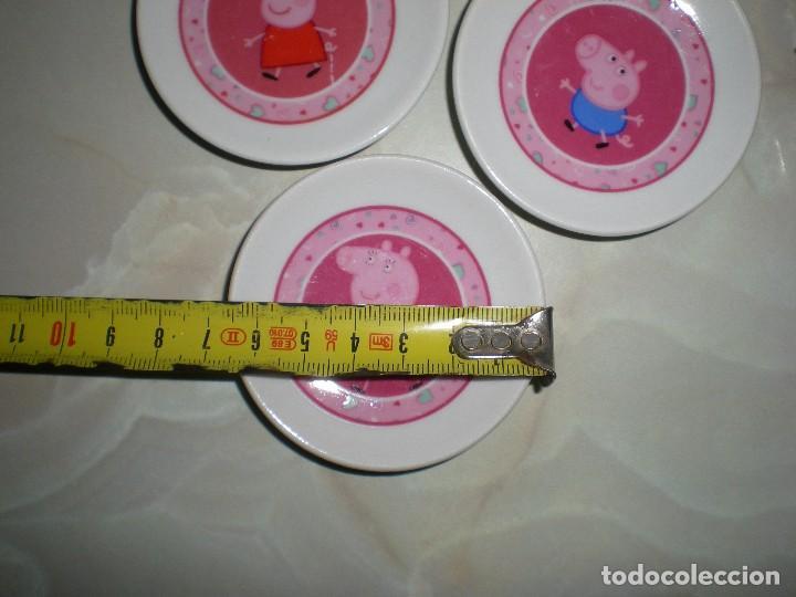 Vestidos Muñecas Españolas: set vajilla en porcelana smoby mini de peppa pig serie tv dibujos animados año 2003 descatalogada - Foto 2 - 73648007