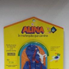 Vestidos Muñecas Españolas: BLISTER CONJUNTO ALINA DE B.B MD.CHUBASQUERO-AÑOS 70. Lote 75007643
