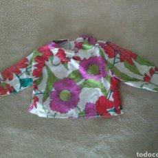 Vestidos Muñecas Españolas: CAMISA FLOREADA PARA MUÑECA. Lote 76240314