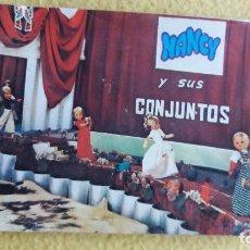 Vestidos Muñecas Españolas: CATALOGO NANCY AÑOS 70. Lote 76694999