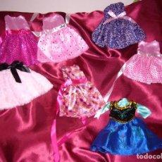 Vestidos Muñecas Españolas: VESTIDOS MUÑECA-VESTIDO-TERCIOPELO-PARA MUÑECAS DE 40/45 CM +O-,NUEVOS-GASAS, ABALORIOS, LENTEJUELAS. Lote 79070689