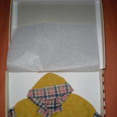 Vestidos Muñecas Españolas: VESIDO ASI DAZUCAR PARA MUÑECA GRANDE MARIQUITA,CALLETANA GISELA MARICELA ETC RESTOS DE FABRICA. Lote 79528801