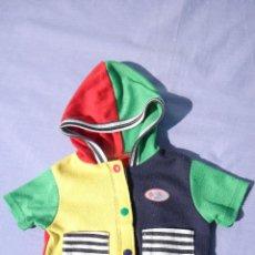 Vestidos Muñecas Españolas: CHAQUETA ORIGINAL DE BABY BORN DE ZAPF CREATION. Lote 81164972