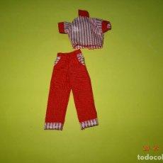 Vestidos Muñecas Españolas: ¡ CHABEEL CHABEEL QUE BIEN ! CONJUNTO BURGUER DE DANNY DE CHABEL ORIGINAL NUEVO A ESTRENAR 1980-90S. Lote 206317538