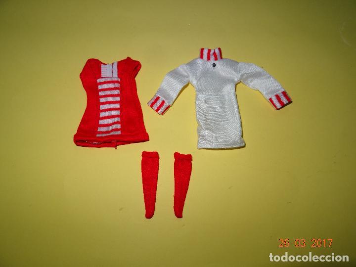 ¡ CHABEEL CHABEEL QUE BIEN ! CONJUNTO DE CHABEL ORIGINAL - NUEVO A ESTRENAR - AÑO 1980-90S. (Juguetes - Vestidos y Accesorios Muñeca Española Moderna)