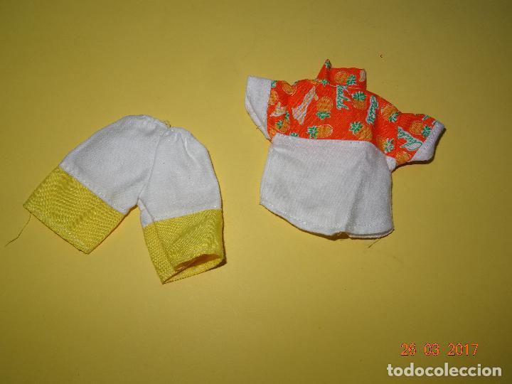 ¡ CHABEEL CHABEEL QUE BIEN ! CONJUNTO DANNY DE CHABEL ORIGINAL - ESTRENAR - AÑO 1980-90S. (Juguetes - Vestidos y Accesorios Muñeca Española Moderna)