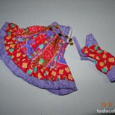 Vestidos Muñecas Españolas: ¡ CHABEEL CHABEEL QUE BIEN ! CONJUNTO ZINGARA DE CHABEL ORIGINAL NUEVO A ESTRENAR AÑO 1980-90. Lote 205793490