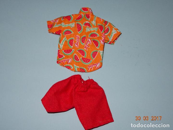 ¡ CHABEEL CHABEEL QUE BIEN ! CONJUNTO SANDIA DE DANNY DE CHABEL ORIGINAL NUEVO A ESTRENAR 1980-90S (Juguetes - Vestidos y Accesorios Muñeca Española Moderna)