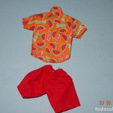 Vestidos Muñecas Españolas: ¡ CHABEEL CHABEEL QUE BIEN ! CONJUNTO SANDIA DE DANNY DE CHABEL ORIGINAL NUEVO A ESTRENAR 1980-90S. Lote 205793262