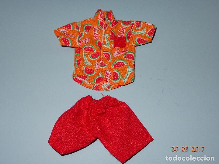 Vestidos Muñecas Españolas: ¡ CHABEEL CHABEEL QUE BIEN ! Conjunto SANDIA de DANNY de CHABEL Original Nuevo a Estrenar 1980-90s - Foto 2 - 254436735