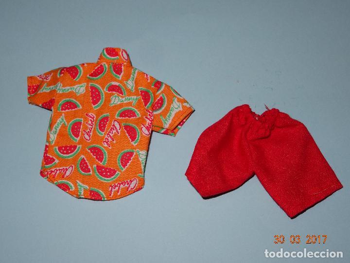 Vestidos Muñecas Españolas: ¡ CHABEEL CHABEEL QUE BIEN ! Conjunto SANDIA de DANNY de CHABEL Original Nuevo a Estrenar 1980-90s - Foto 3 - 254436735