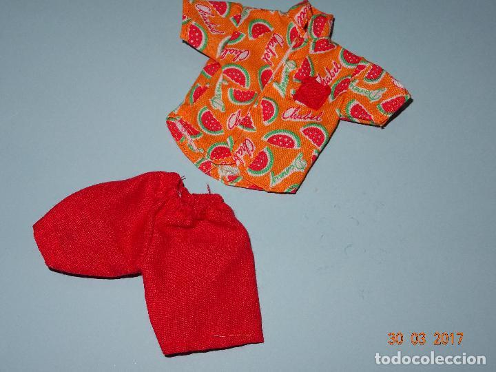 Vestidos Muñecas Españolas: ¡ CHABEEL CHABEEL QUE BIEN ! Conjunto SANDIA de DANNY de CHABEL Original Nuevo a Estrenar 1980-90s - Foto 4 - 254436735