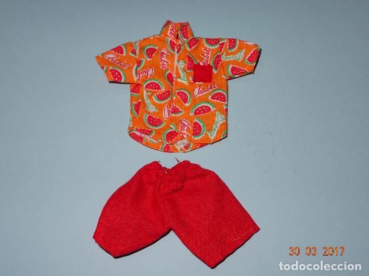 Vestidos Muñecas Españolas: ¡ CHABEEL CHABEEL QUE BIEN ! Conjunto SANDIA de DANNY de CHABEL Original Nuevo a Estrenar 1980-90s - Foto 5 - 254436735