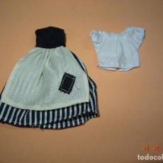 Vestidos Muñecas Españolas: ¡ CHABEEL CHABEEL QUE BIEN ! CONJUNTO CENICIENTA POBRE DE CHABEL ORIGINAL NUEVO A ESTRENAR 1980-90S. Lote 213725592