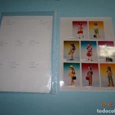 Vestidos Muñecas Españolas: ¡CHABEEL CHABEEL QUE BIEN! FOTOS ORIGINALES PROFESIONALES DE DANNY Y CHABEL PREVIAS AL CATÁLOGO. Lote 82176988